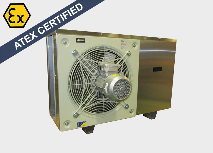 Explosion Proof air conditioner, type ExM MCUA, ATEX certified. Suitable for marine and offshore