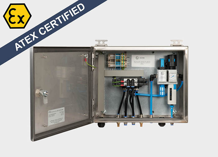 Explosion Proof Pneumatic Control Panel