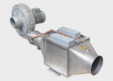 Explosion proof process heater